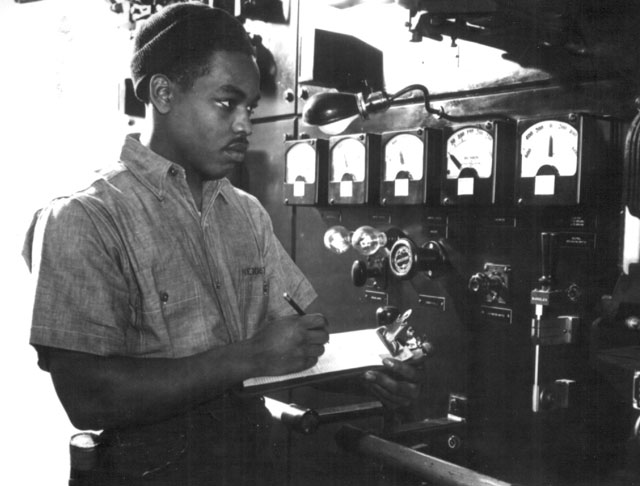 A seaman with the U.S. Maritime Service. N.d. 208-NP-3ZZ-4.