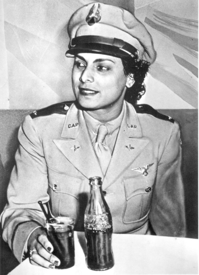 Willa Beatrice Brown, a 31-year-old Negro American, serves her country by training pilots for the U.S. Army Air  Forces. She is the first Negro woman to receive a commission as a lieutenant in the U.S. Civil Air Patrol.  N.d. 208-FS-793-1.