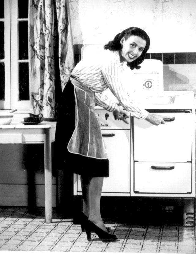 Lena Horne conserves fuel (gas). N.d. Randt Studios, Inc. 208-NP-4CCC-1.