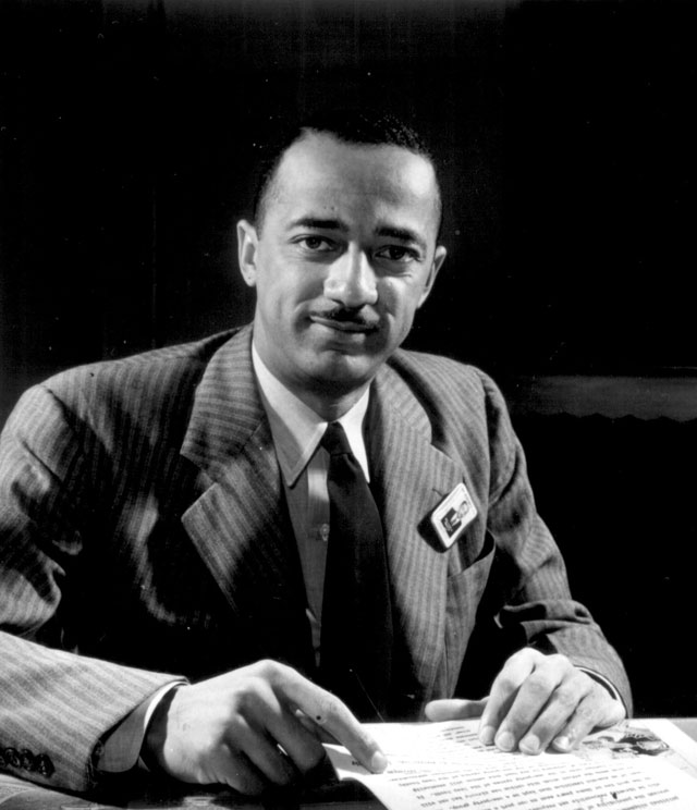 Judge William H. Hastie, dean of the Howard University Law School, Civilian Aide to the Secretary of War. Ca.  1941. 208-NP-6BBB-1.