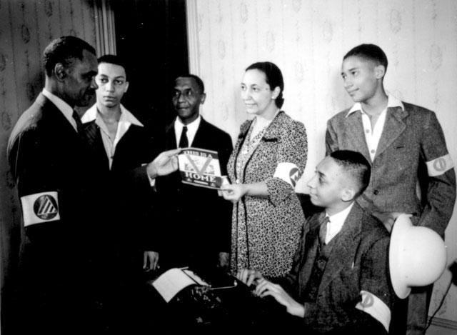 V home campaign, Washington, DC. October 1942. 171-OCD-140.